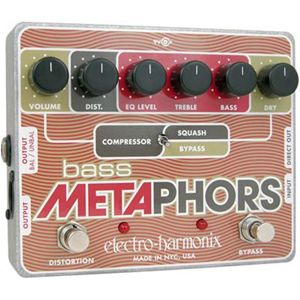 Electro Harmonix Bass Metaphors Guitar Multi Effects Pedal
