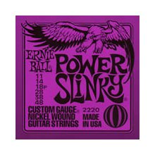 Ernie Ball Power Slinky 11-48 gauge string set
