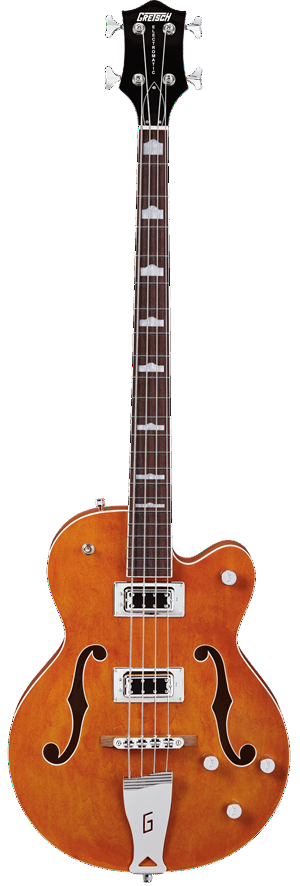 Gretsch G5440LSB Electromatic Series Hollow Body Bass in Orange