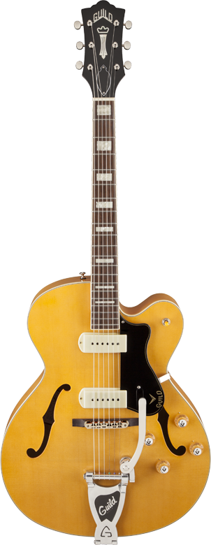 Guild X-175B Manhattan w/ Bigsby Blonde