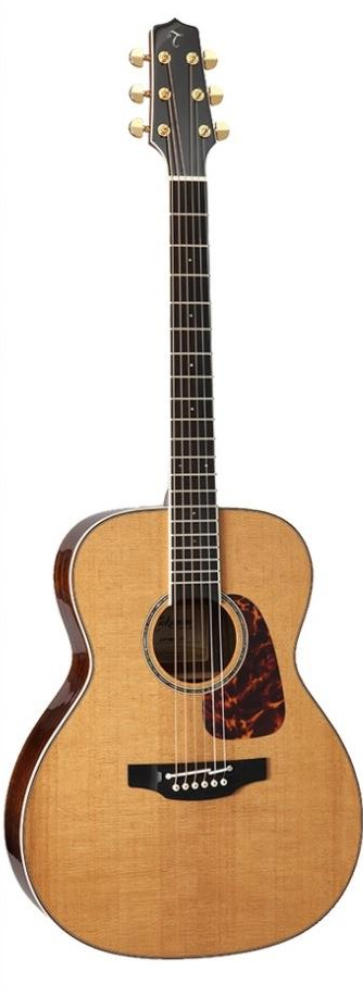 Takamine CP7MO-TT OM With Thermal Treated Top Includes Official Hard Case