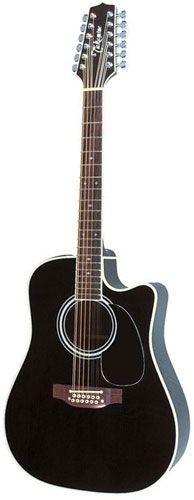 Takamine EF381SC 12 string Includes Official Hard Case