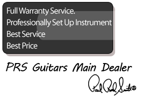 PRS Guitars, full warranty, professional set up, best price